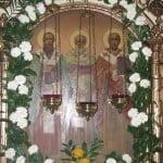 Икона Трёх Святителей